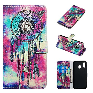 cheap Marble Case-Case For Samsung Galaxy A20e / A7(2018) Magnetic / Flip / with Stand Full Body Cases Cartoon Hard PU Leather for Galaxy A9(2018)/A10/A30/20A/A40/A70/A9 2018/A3 2016/A5 2017/A3 2017/A5 2016