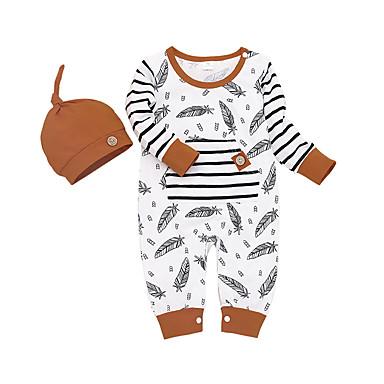 povoljno Odjeća za bebe-Dijete Djevojčice Aktivan / Osnovni Print Print Dugih rukava Kombinezon Obala