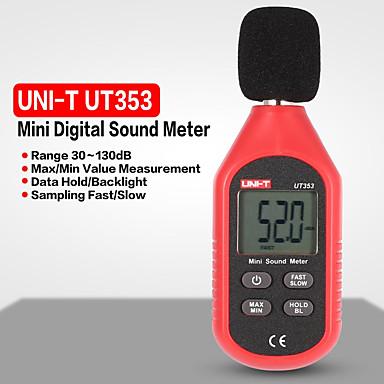 voordelige Test-, meet- & inspectieapparatuur-uni-t ut353 ruismeetinstrument meter 30130db mini audio geluidsmeter decibel monitor