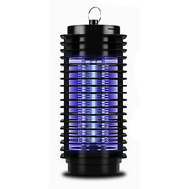 LF-200 Противомоскитные лампы Репеллент LED излучатели с батареей и USB кабелем Портативные Защита от ветра Прочный Походы / туризм / спелеология Повседневное использование Рыбалка Черный