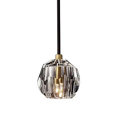 простой подвесной светильник подвесной светильник хрустальный оттенок подвесной светильник рассеянный свет гальванический кристалл
