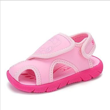 baratos Sapatos de Criança-Para Meninos / Para Meninas Sintéticos Sandálias Criança (9m-4ys) / Little Kids (4-7 anos) Conforto Azul / Rosa claro / Azul Claro Verão