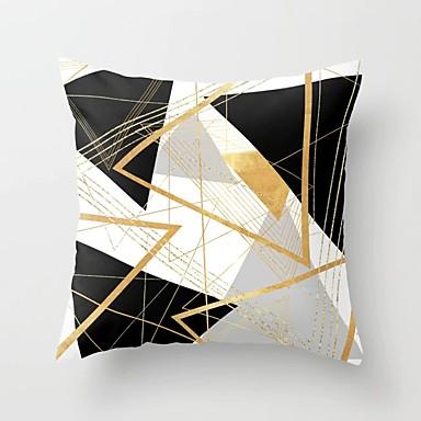 billige Putevar-1 stk Polyester Putecover, Geometrisk Moderne Kaste pute
