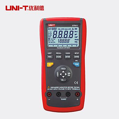 voordelige Test-, meet- & inspectieapparatuur-Uni-t ut611 lcr digitale meter inductantie capaciteit frequentie tester 6000 tellen multimeter analoge bar l / c / r / dcr / q / d / esr maatregel