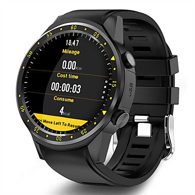 cheap New Arrivals-Men's Smartwatch Digital Modern Style Sporty Silicone 30 m Water Resistant / Waterproof GPS Heart Rate Monitor Digital Casual Outdoor - Black Red Blue