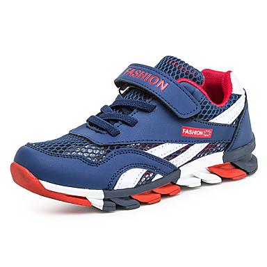 baratos Sapatos de Criança-Para Meninos Com Transparência Tênis Little Kids (4-7 anos) / Big Kids (7 anos +) Conforto Azul Escuro / Vermelho / Azul Verão
