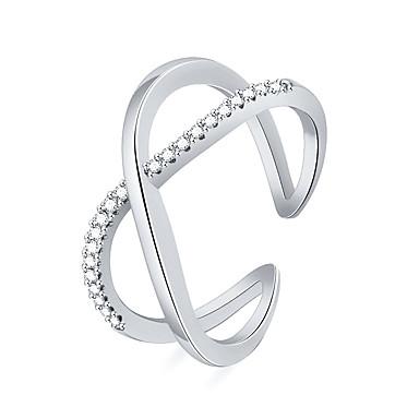 billige Motering-Dame Ring 1pc Rose Gull / Sølv Kobber Skole / Gate / Ferie Kostyme smykker
