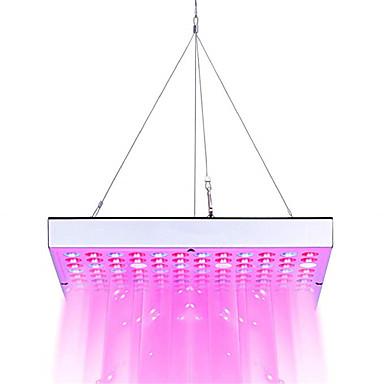 1pc 45 W 3600 lm 144 LED Boncuklar Tam Spektrum Sera Topraksız için Büyüyen Işık Fikstürü Beyaz Kırmızı Mavi 85-265 V Sebze sera
