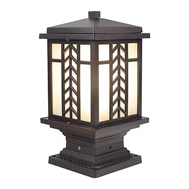 billige Utendørsbelysning-QIHengZhaoMing 1pc 20 W plen Lights Vanntett Varm hvit 220-240 V / 110-120 V Utendørsbelysning / Courtyard / Have 1 LED perler