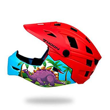 billige Hjelmer-Barne sykkelhjelm BMX Hjelm 28 Ventiler EPS ABS + PC sport Utendørs Trening Sykling / Sykkel - Grønn Rød+Blå Unisex