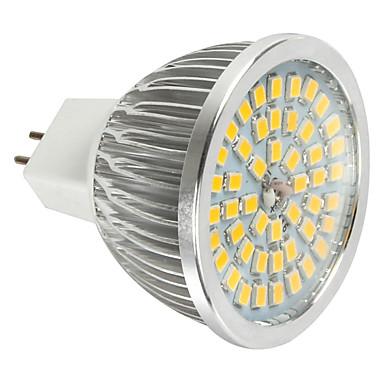 abordables Ampoules électriques-1pc 6 W Spot LED 600 lm MR16 48 Perles LED SMD 2835 Décorative Blanc Froid 12 V