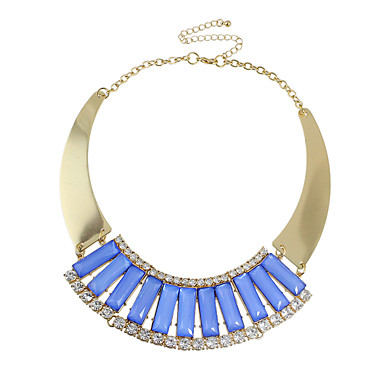 abordables Collier-Colliers Fantaisie Femme Coréen Doux Mode Mignon Adorable Vert clair Bleu 35.5 cm Colliers Tendance Bijoux 1pc pour Cadeau Quotidien Travail