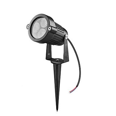 billige Utendørsbelysning-1pc 5 W plen Lights Vanntett / Dekorativ Varm hvit / Kjølig hvit / Rød 85-265 V / 12 V Utendørsbelysning / Svømmebasseng / Courtyard 3 LED perler