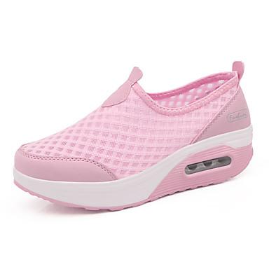 Kadın's Spor Ayakkabısı Kişiye Özel Yuvarlak Uçlu Örümcek Ağı Günlük İlkbahar yaz Siyah / Navy Mavi / Pembe