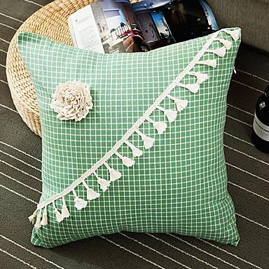 billige Putevar-2 stk Polyester Putecover, Blomstret Moderne Kaste pute