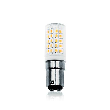 billige Elpærer-LOENDE 6 W LED-kornpærer 700 lm BA15d T 64 LED perler SMD 2835 Mulighet for demping Varm hvit Hvit 110-130 V 200-240 V