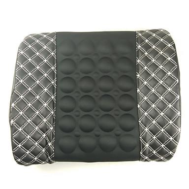 voordelige Auto-interieur accessoires-12 v elektrische auto massage lumbale kussen autostoel rug ontspanning taille ondersteuning kussen