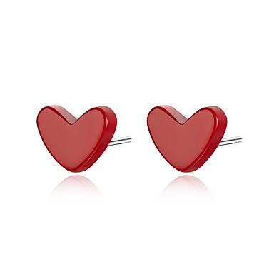 voordelige Dames Sieraden-2019 oorknopjes anti allergische rode steen turquoise oor pin vrouwen 925 sterling zilveren vrouwelijke Koreaanse sieraden SCE595