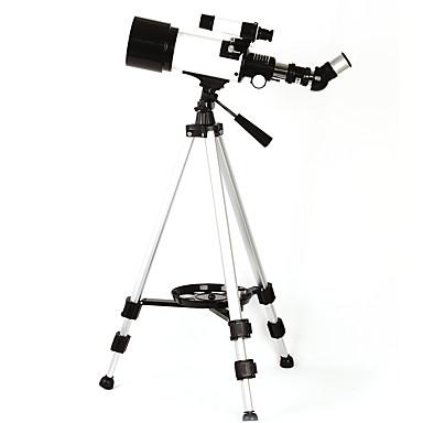 저렴한 단망경, 쌍안경 & 망원경-10-165 X 70 mm 망원경 굴절 망원경 방수 고해상도 Fogproof 전체 코팅 캠핑 & 하이킹 수렵 피싱 PU 가죽 플라스틱 알루미늄 합금 / 넓은 각도