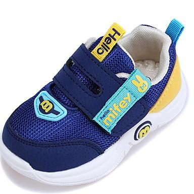 baratos Sapatos de Criança-Para Meninas Com Transparência Tênis Little Kids (4-7 anos) Conforto Rosa claro / Azul Escuro / Cinzento Verão