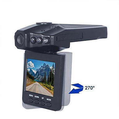 billige Bil-DVR-1080p Full HD Bil DVR 120 grader Bred vinkel 2.5 tommers LCD Dash Cam med Night Vision / Loop-opptak Bilopptaker