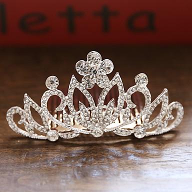 voordelige Dames Sieraden-Dames Dames Bruids Prinses Legering kleine diamant Haarkammen Haarsieraden Haar charmes