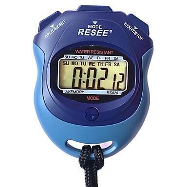 baratos Relógios Senhora-Casal Relógio Esportivo Japanês Digital Preta 30 m Luminoso Novo Design Relogio Despertador Digital Ao ar Livre Nova chegada - Azul Dois anos Ciclo de Vida da Bateria