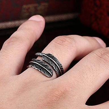 voordelige Dames Sieraden-Heren Dames Ring 1pc Zwart Koper Cirkelvormig Standaard Koreaans Modieus Festival Sieraden Kwaad oog