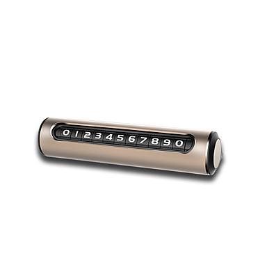 voordelige Auto-interieur accessoires-roller vorm nummers-draaibaar auto tijdelijk parkeren telefoonnummers ondertekenen parkeernummers dispaly