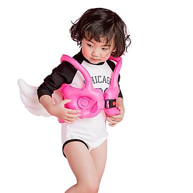 baratos Roupas de Banho para Meninas-Infantil Para Meninas Geométrica Roupa de Banho Rosa