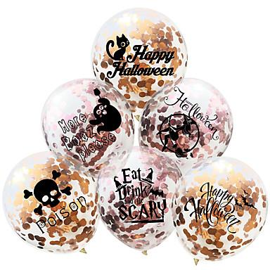voordelige Feestbenodigdheden-Ballon Emulsie 20 Halloween