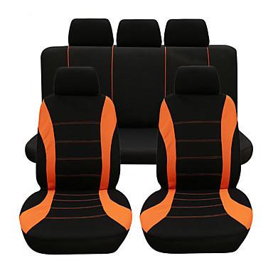 voordelige Auto-interieur accessoires-9 stks / set autostoel cover comfortabele stofdichte stoelbeschermer universele volledige zitkussenhoes