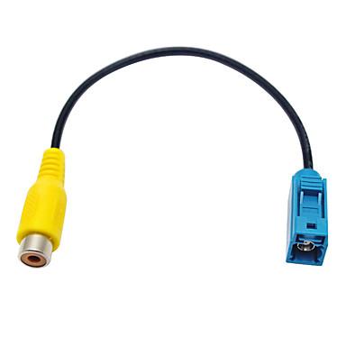 voordelige Automatisch Electronica-auto achteruitrijcamera adapter rca kabel plug voor mercedes ford oem radio head unit