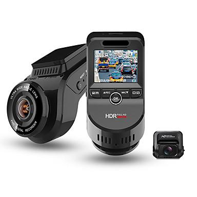 tanie DVR samochodowe-junsun s590-s 4k 2160p ultra hd rejestrator samochodowy z dwoma obiektywami dashcam wbudowany w gps tracker kamera noktowizyjna z 1080p 170 kamera tylna