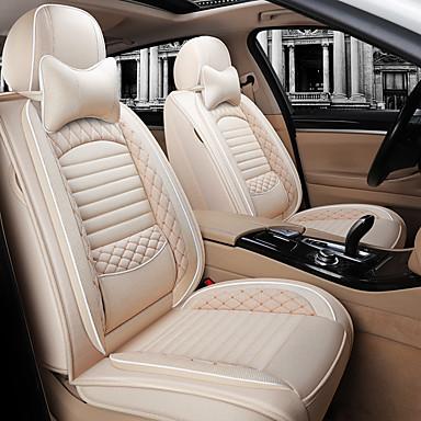 voordelige Auto-interieur accessoires-linnen auto zitkussen herfst en winter linnen vier seizoenen algemene motoren zitkussen automotive benodigdheden