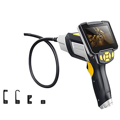 voordelige Microscopen & Endoscopen-digitale industriële endoscoop 4,3 inch lcd borescope videoscoop met CMOS-sensor semi-rigide inspectiecamera handheld endoscoop