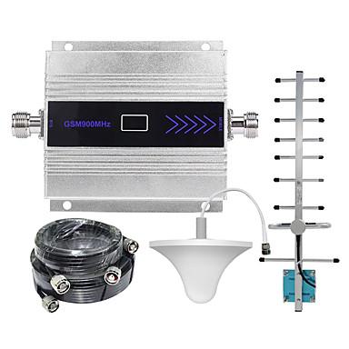 bånd 8 gsm mobiltelefon signalforsterker 2g 900 mhz mobiltelefon signal repeater med tak / yagiantenna / 15m 5m kabel