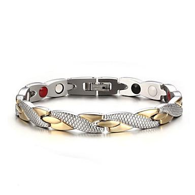 voordelige Dames Sieraden-Dames Armband crossover Dier Stijlvol Artistiek Luxe Titanium Staal Armband sieraden Goud / Zilver Voor Kerstmis Dagelijks Feestdagen Werk Club