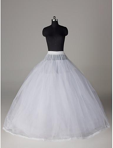 povoljno Podsuknje-Vjenčanje / Special Occasion / Zabava / večer Podsuknje Najlon / Til Do poda Ball haljina proklizavanja / Classic & Timeless s