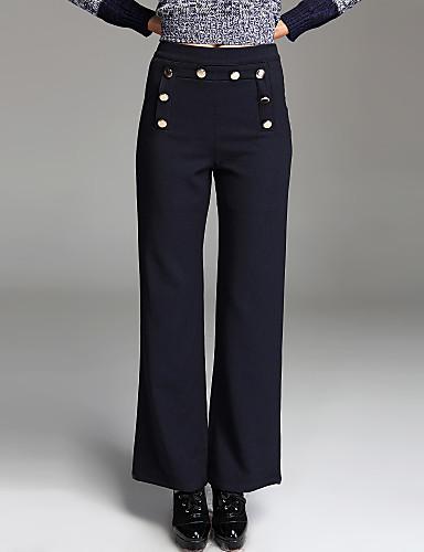 TS Royal Bottons Detail Wide Leg Pants