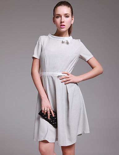TS elegant bow-tie kjole