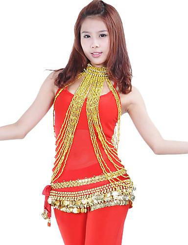 abordables Déstockage Mariages & Soirées-Accessoires de Danse Bijoux Femme Utilisation Polyester / Danse du ventre
