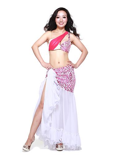 dancewear spandex con estampado animal Vestido de baile del vientre rendimiento para damas más colores