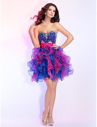 63a44c7e1 Vestido Baile de Formatura Festa de Coquetel Baile Vestidos de 15 Anos Baile