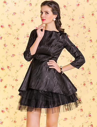 ts vintage jacquard mesh design self underkjole kjole