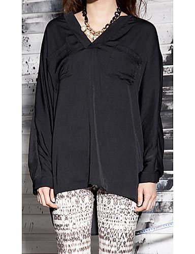 [Orange-cvijet] Ženska Loose minimalistički Bluza