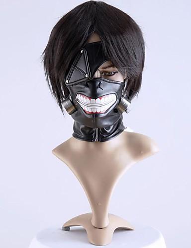 halpa Cosplay ja rooliasut-Mask Innoittamana Tokio Ghoul Cosplay Anime Cosplay-Tarvikkeet Naamio Miesten / Naisten Halloween-asut