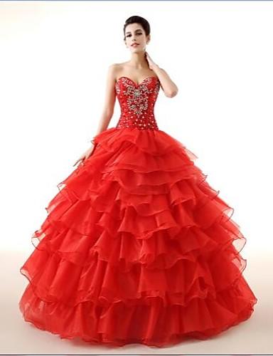 b9a44fc692 Báli ruha Menyasszonyi ruha Földig érő Szív alakú Zsorzsett val vel ...