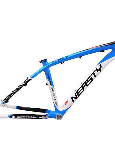 """billige sykkelens ramme-MTB Full Carbon Sykkel Ramme 26"""" Glanset 3K cm tommers"""