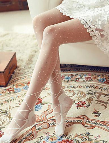 Women's Lolita Sweet Style Ballet Shoes Design Pantyhose